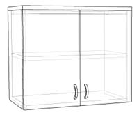 шкаф над вытяжкой
