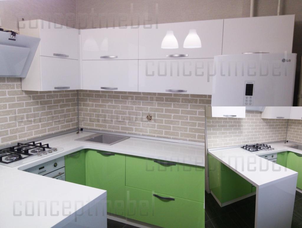 кухня бел+зелен агт1